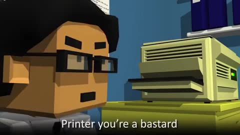 Printer Jam - Trapped in Technology