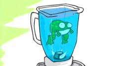 Image result for frog in a blender gif