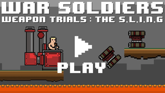 War Soldiers Weapon Trials: The S.L.I.N.G - Game Program Attack