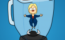 Hillary Clinton in a Blender is Com..