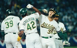 A's Hosting 1989 World Series Reunion. Who's coming?