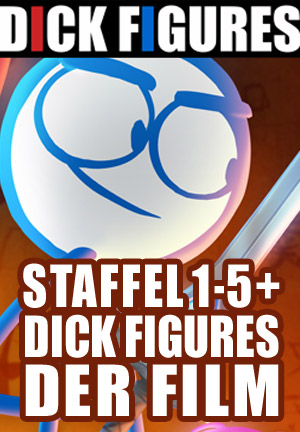 Staffel 1-5 + Dick Figures der Film Bundle