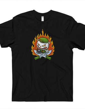 Happy Tree Friends T-Shirt - Flippy Flame