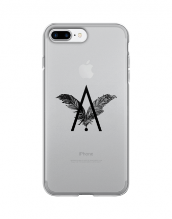 """Logo AV"" Protector de Celular (logo negro)"