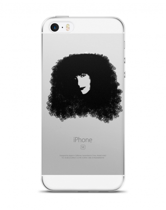 """Amanda Pop Art"" Protector de Celular (iPhone 5 / SE)"