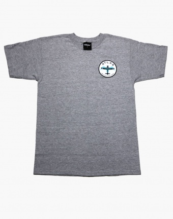 Atlas Plane Tee - Grey