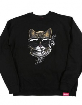 Markisa Cool Cats Crew Neck