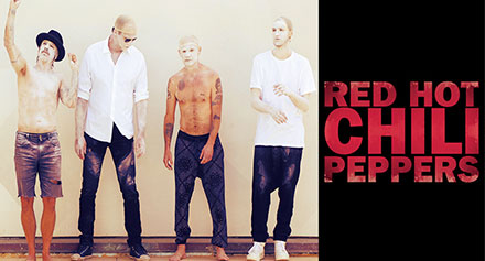 Red Hot Chili Peppers The Getaway T..