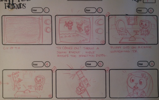 Storyboards for New HTF Episode!