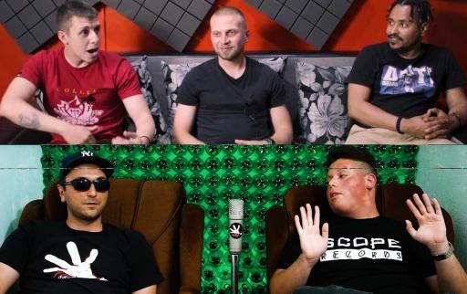VENZY, HOMELESZ & SCAR @BlackStationTV / DONKAWOYAN @Red CanapE