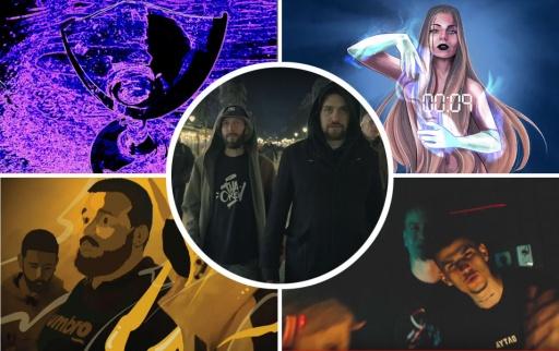 L!R! / LMC x F-ACT / DushkovTwenty4 x Nick Riot / Mary Rose x 22G / Dorothy Takev
