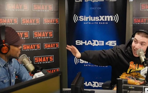 Token Freestyle on Sway In The Morning