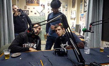 """Homelesz и SplitKid @ Радио """"Реакция"""""""