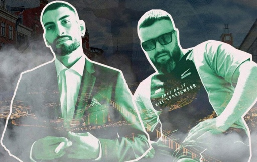 DeccanMan x Dim4ou / RUTHLESS BOY & DMB / León x No Face x 4€F0 / Осем Пет