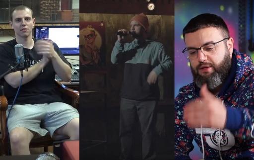 Жлъч @ Sound Talks / Dim4ou vs DIM / SEMETO x Stiliyan Rinkov