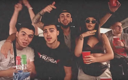 EMO feat. Drink x Cank x Rico Azur & NikoleDim - TRAP DAMN KIDS (TDK)