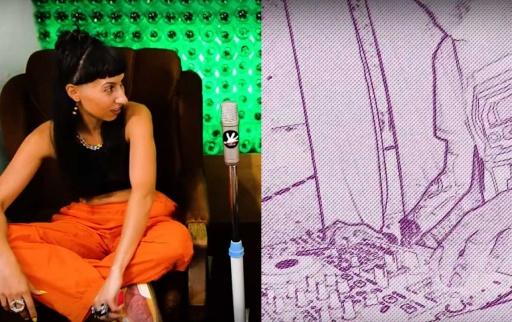 gaza LIVE @SUNTRIBE / NASTIE @Red CanapE Podcast