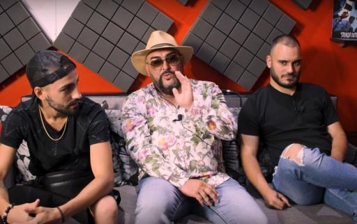 УСТАТА, ЛЪЧО (СКАНДАУ) & D-ZASTA (ACBG) @ BlackStationTV