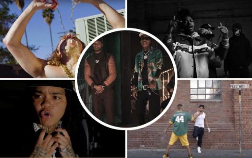 Papoose x Wiz Khalifa x Brady Watt / Shane Eagle x YoungstaCPT / Young M.A. / DC x Knucks / Joy Denalane / cal scruby
