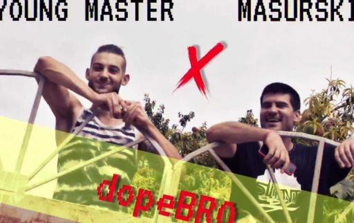 Young_Master_x_Masurski_-_dopeBRO_dobro