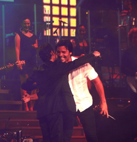 Marc Anthony con Chayanne