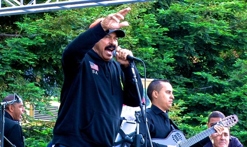 Oscar D'Leon en el Salsa Festival