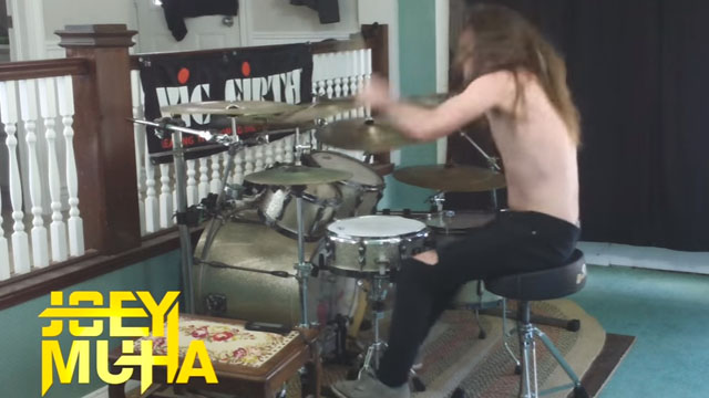 Happy Tree Friends Theme Song Drumming by Joey Muha!