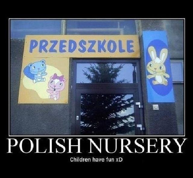 Polish Happy Tree Friends Nursery