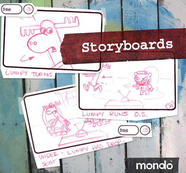 Happy Tree Friends By The Seat Of Your Pants Storyboard 01