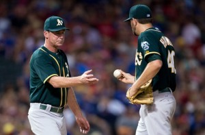 jason-hammel-bob-melvin-mlb-oakland-athletics-texas-rangers-850x560