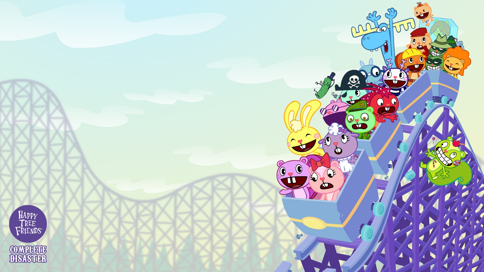 Happy Tree Friends Complete Disaster Wallpapers Happy Tree